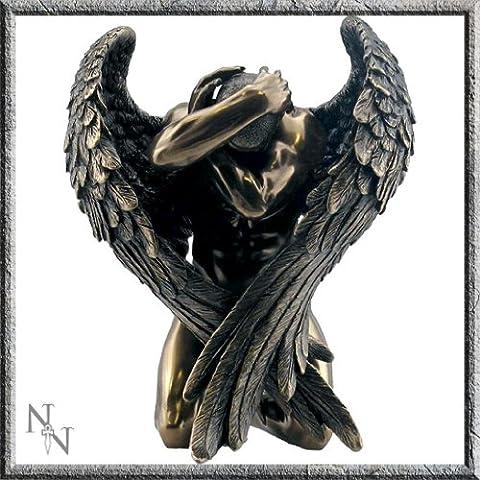 Bronze Effect Male Angel Figurine 16