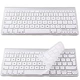 Blanc Royaume-Uni Clavier Housse en silicone protection d'écran pour Apple iMac Clavier sans fil; 33cm MacBook Pro; 38,1cm MacBook Pro