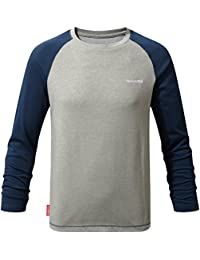 Craghoppers Nosilife Barnaby Long Sleeved T-Shirt