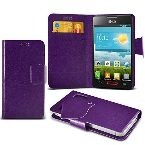 (Purple) LG Optimus L4 II E440 Mega sottile Protezione in