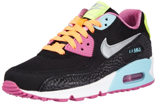 Nike Air Max 90, Derby mixte enfant Black Multi