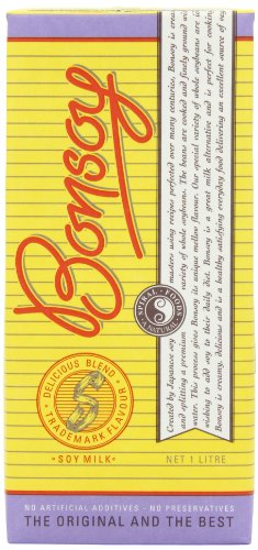 Bonsoy Organic Soy Drink 1 Litre (Pack of 3)