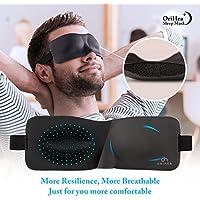 Schlafmaske für Frauen & Männer, OriHea Fashion Licht blockierende Augenmaske zum Schlafen, 3D konturierte, bequeme... preisvergleich bei billige-tabletten.eu