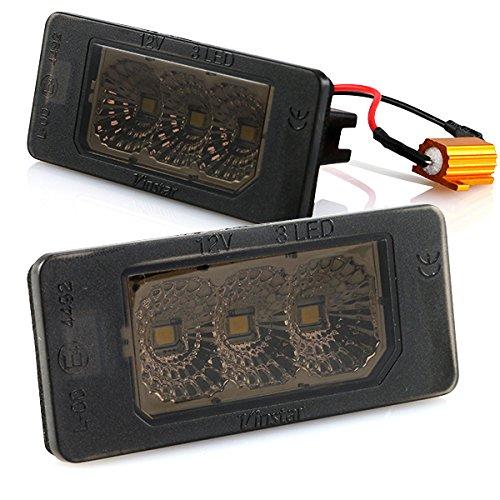 Preisvergleich Produktbild LED Kennzeichenbeleuchtung Canbus Module mit E-Zulassung V-030613