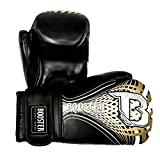 Booster BG Youth Gold Boxhandschuhe Schwarz-Gold