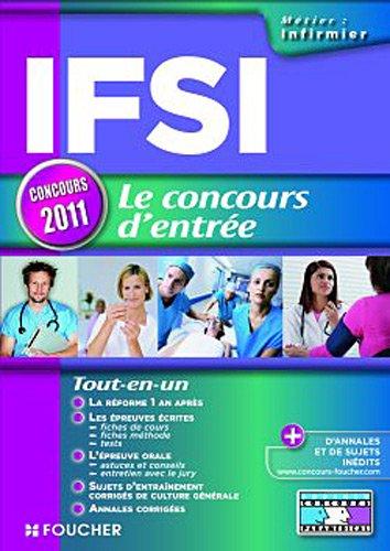 IFSI Le concours d'entrée concours 2011