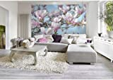 Fototapete Magnolia - Größe 368 x 254 cm - 8 teilig