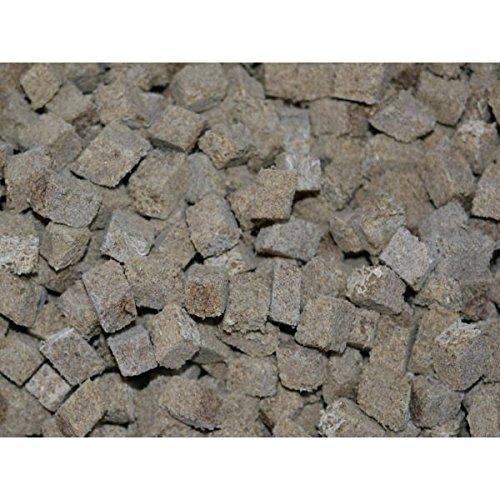 500ml-getrocknete-Tubifex-Wrfel-Leckerbissen-fr-Zierfische-und-Schildkrten-Bachrhrenwrmer-FD-Futter