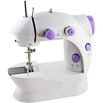 Vmoni Sewing Machines for Home Mini Multi Functional Electric Plastic Sewing Machines with Accessories(Multi Color)
