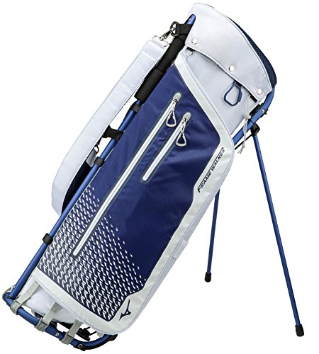 Mizuno Golf Japan Mizuno Frame Walker Stand Caddy Bag 5LJC180900 2018MODEL weiß blau (weiß/blau) (((englischsprachig))) - Walker Bag
