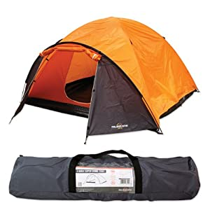 51SRJ lrW6L. SS300  - Milestone Camping 1 Person Dome Tent | Water Resistant |