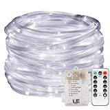 LE 120er LED Lichterschlauch 10M Kaltweiß