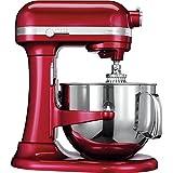 KitchenAid Artisan - Batidora amasadora, 6.9 l, color rojo