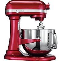 KitchenAid 5KSM7580X, Rosso, Acciaio inossidabile, 50/60 Hz . KitchenAid 5KSM7580X. Colore del prodotto: Rosso. Peso: 12,6 kg, Larghezza: 37,1 cm, Profondità: 33,8 cm. Frequenza di ingresso AC: 50/60 Hz. Materiale contenitore: Acciaio inossidabile