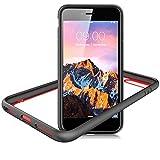 Slynmax Coque iPhone 8 Plus Noir Coque iPhone 7 Plus/8 Plus Housse Luxe Transparente...
