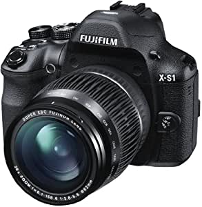 Fujifilm X-S1 Digital Camera (12MP, 26x Optical Zoom) 3 inch Tiltable LCD Screen