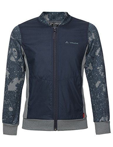 Vaude Kinder Kids Awilix Tracktop Trainingsjacke Jacke, Eclipse, 110/116