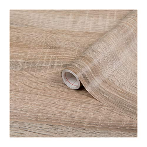 d-c-fix, Folie, Holz, Sonoma Eiche hell, Rolle 90 cm x 210 cm, selbstklebend