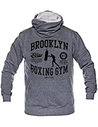 Dirty Ray Brooklyn Boxing Gym Sweat homme avec capuche BS34