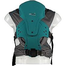 Caboo DX+ - portabebé Coolpass (color azul verdoso)
