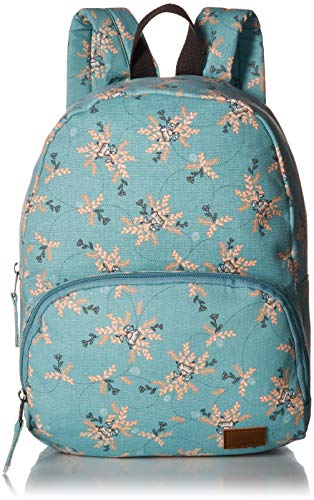 Roxy Damen Always Core Canvas Backpack Rucksäcke, Aquifer Flowers Everyday Swim, 1SZ -