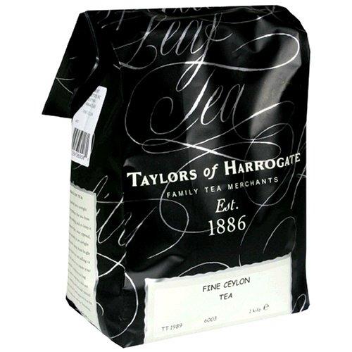 Taylors of Harrogate Loose Leaf Tea 1kg Pure Ceylon