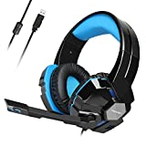 Best TeckNet casque de jeu - TeckNet Casque Gaming, Over-Ear USB Casque Gaming Headset Review
