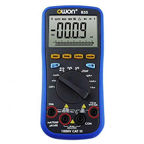 OWON Bluetooth Digital Multimeter B35Datenlogger + Multimeter + Temperatur Meter