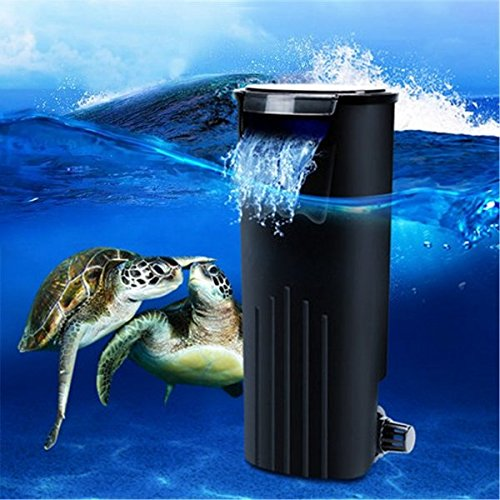 Bazaar Low Water Frische Interne Hang On Aquarium Fisch Schildkröte Reptilien Behälter Power Filter (Interne Filter Aquarium)
