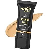 Aegte Organics Skin Corrector DD Cream (BB+CC) Broad Spectrum SPF 25++, Corrector Cream for Face, Dark Spot Remover for…