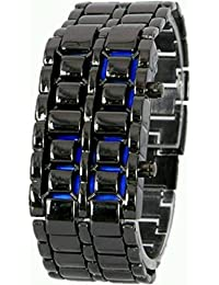 Swadesi Stuff Exclusive Premium Quality Metal LED Watch For Men & Boys
