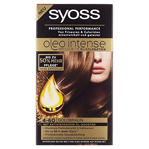 Syoss Oleo Intense Coloration 4-60 Goldbraun, 115 ml