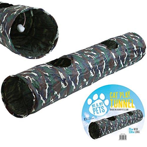 Me & My Pets Tunnel Design Army per Gatto/Coniglio/Cucciolo
