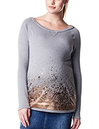Noppies Damen Umstands Langarmshirt Top sweat ls Chloe