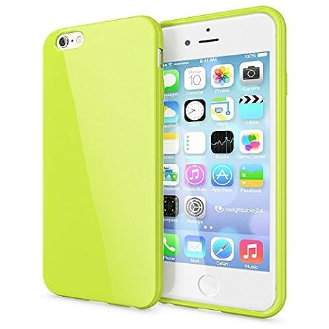 delightable24 Coque Case de Protection TPU Silicone Jelly pour Smartphone