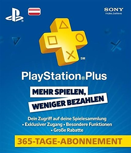 PlayStation®Plus Live Card - 365 Tage (AT) (Österreich)