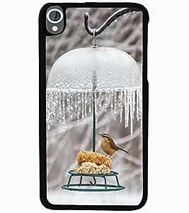 ColourCraft Cute Bird Design Back Case Cover for HTC DESIRE 820