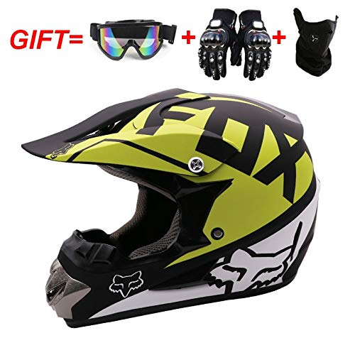 Preisvergleich Produktbild LPC Integralhelm Motocross Helm Mountain Cross Country Motorrad Racing Helm Outdoor Vier Jahreszeiten Universal Sport Ausrüstung Mode (Size : M)