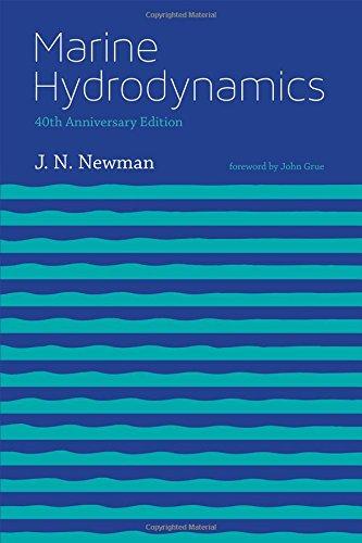 Marine Hydrodynamics (The MIT Press) por J. N. Newman