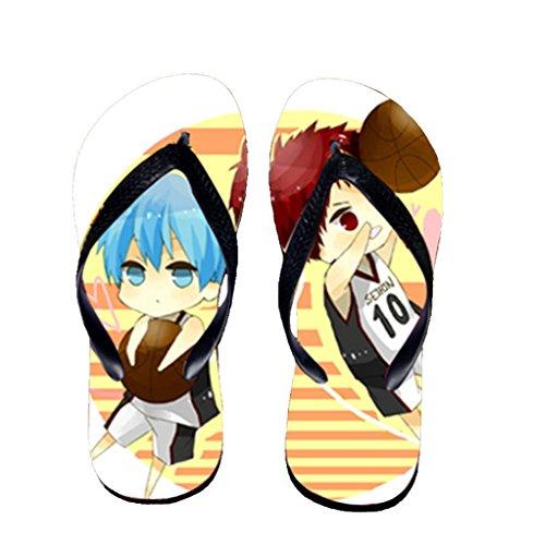 Bromeo Kuroko No Basuke Anime Unisexe Flip Flops Tongs 432