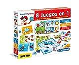 Clementoni Kit 8 Juegos Aprender y Jugar, Miscelanea 65600.4