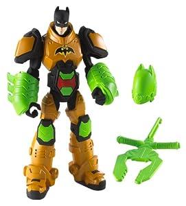 BATMAN - Figuras de acción, Pack Heroe Villano, Armadura Naranja (Mattel X2306)