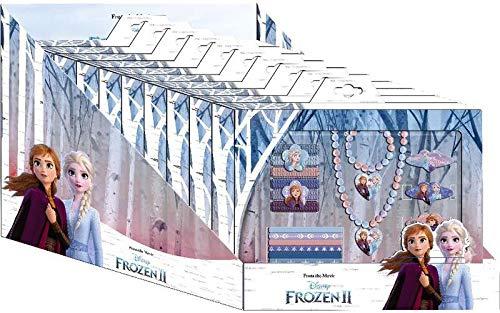 Disney Frozen- Set bisuteria en cdu 10pzas 2 Joyería y Maquillaje (Kids WD20777)