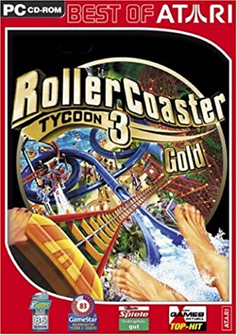 Roller Coaster Tycoon 3 - Gold [Best of