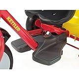 Kettler Dreirad Startrike - hochwertiges Dreirad mit Schubstange - robustes Kinderdreirad mit Kunststoffrädern - rot & gelb -