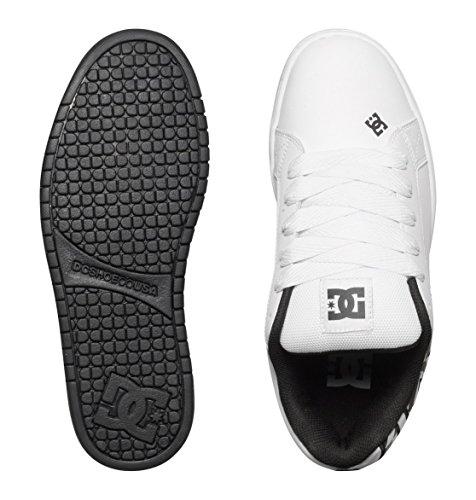DC Shoes Court Graffik, Chaussures de skate homme Blanc/effet camouflage