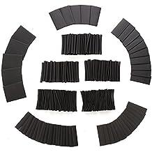 Rishil World 415Pcs 1 Sizes Assortment 2:1 Heat Shrink Tubing Sleeving Wrap Wire Kit 1-31mm
