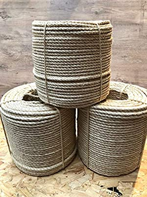 St@llion Cat Scratch Sisal Rope Replacement Natural Various Cat Scratcher Decking Pole Post Tree from St@llion