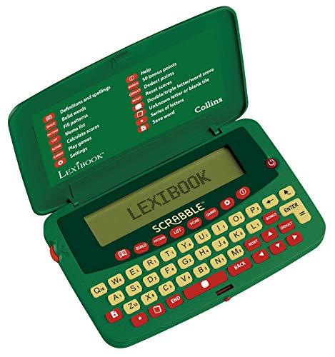 Lexibook Scf-328aen Deluxe Electronic Scrabble dictionnaire (en anglais)