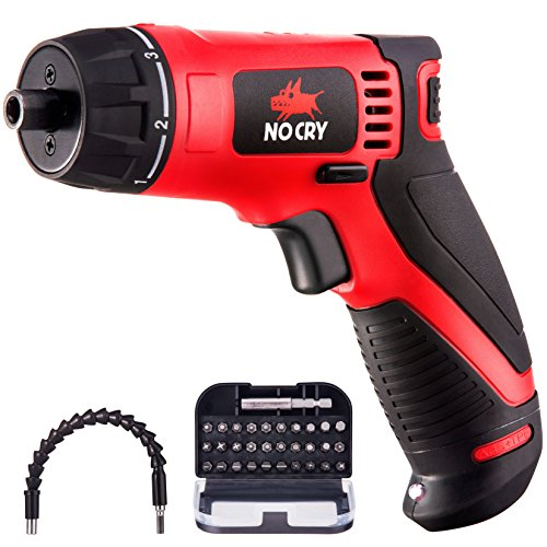 NoCry Cordless Power Screwdriver Set 7.2V 1500mAh